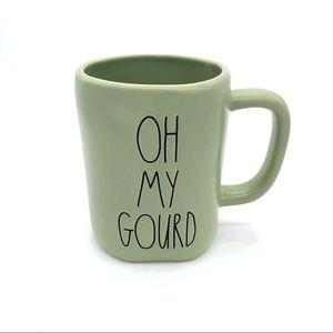 RAE DUNN 'OH MY GOURD' Punny Ceramic Mug